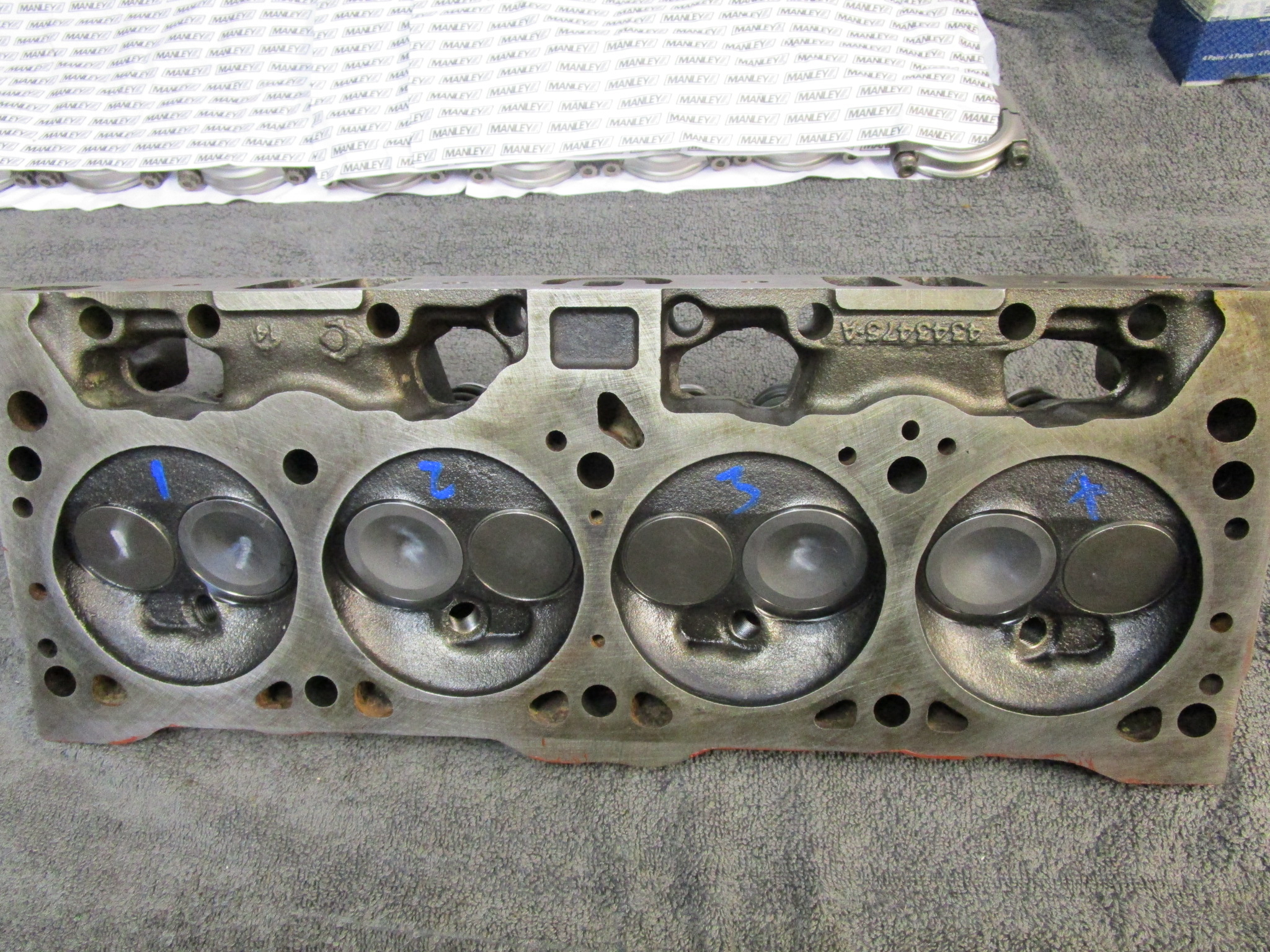 New intake valves