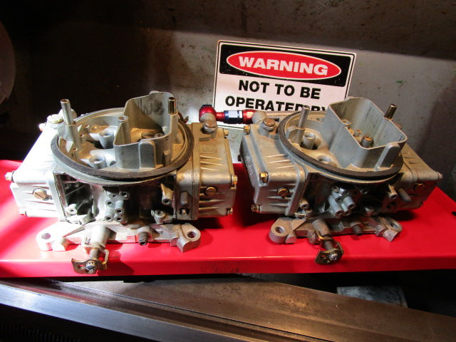 Tunnel Ram carburettors