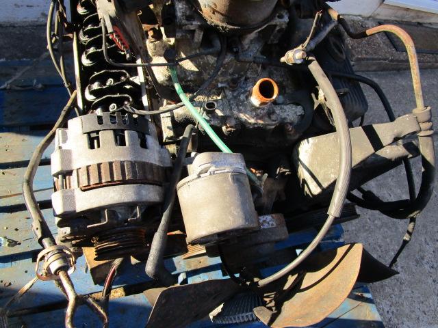 Alternator and pulleys