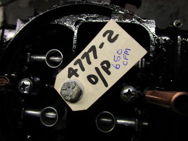 4777-2 650cfm Double Pumper