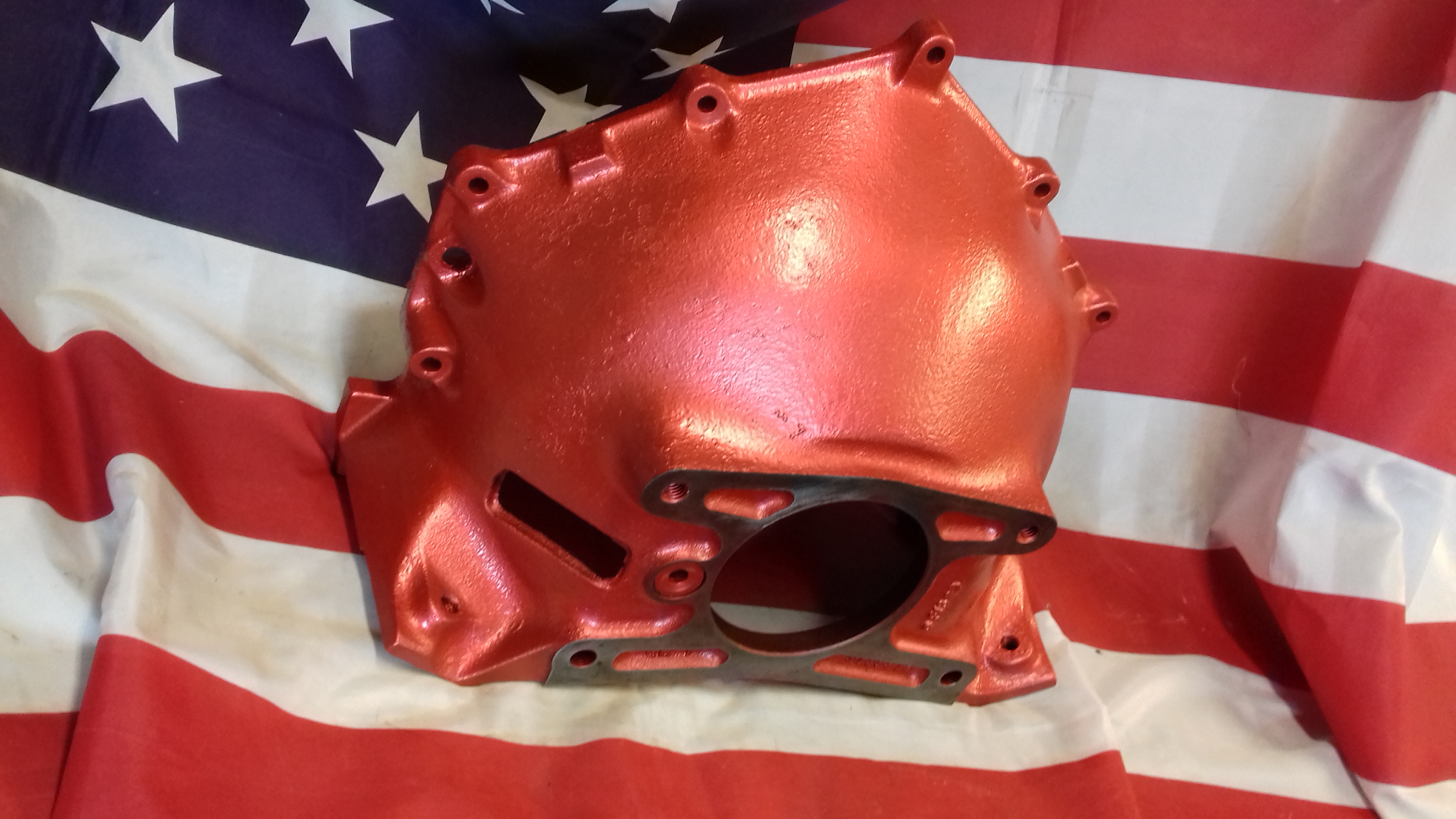 Small block Chevrolet iron gll housing