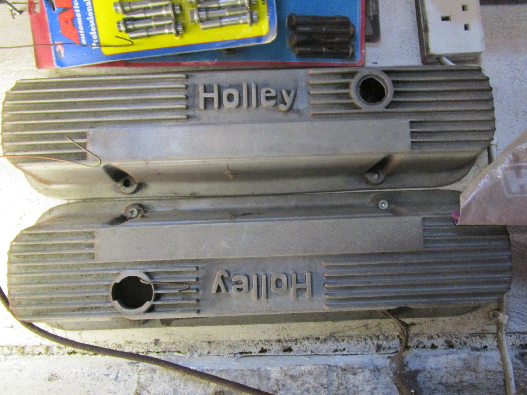 Pontiac Holley aluminium 20