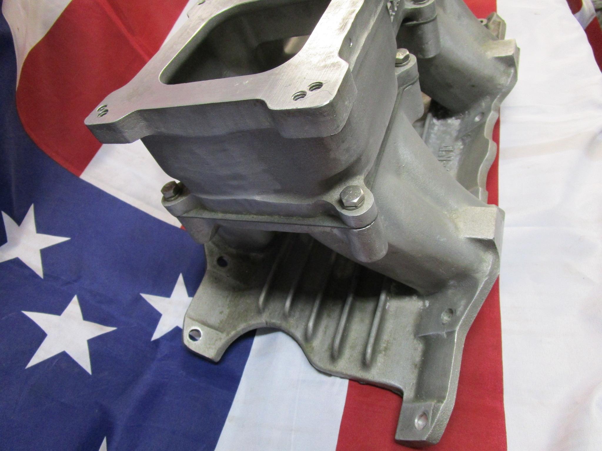 dual square bore carburettors