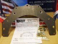 Adaptor kit joins Chevrolet engine to Pontiac transmission