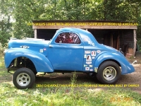 Rays Willys Coupe with 283ci Chevrolet