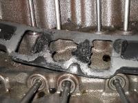 Intake manifold gasket failed