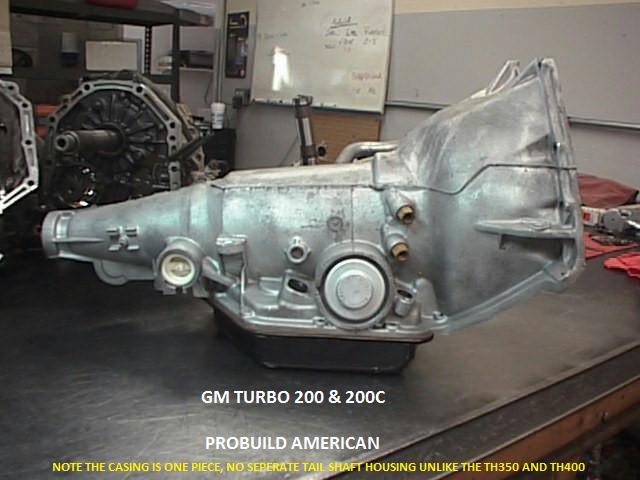 Gm Turbo And C