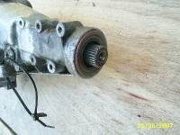 Multi spline output shaft