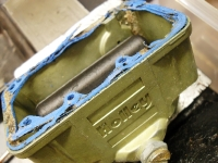 Gasket removal can be a problem