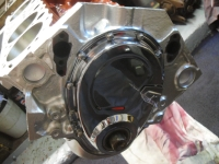 CHROME TIMING COVER