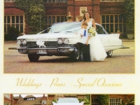 1960 Cadillac is used for wedding hire